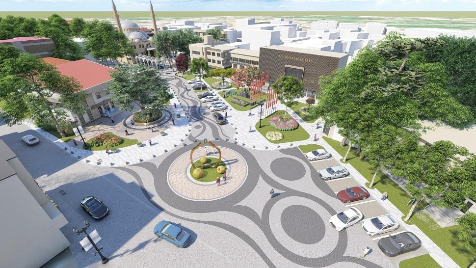 Projenin temeli atılacak Geyve Meydanı'na kavuşuyor