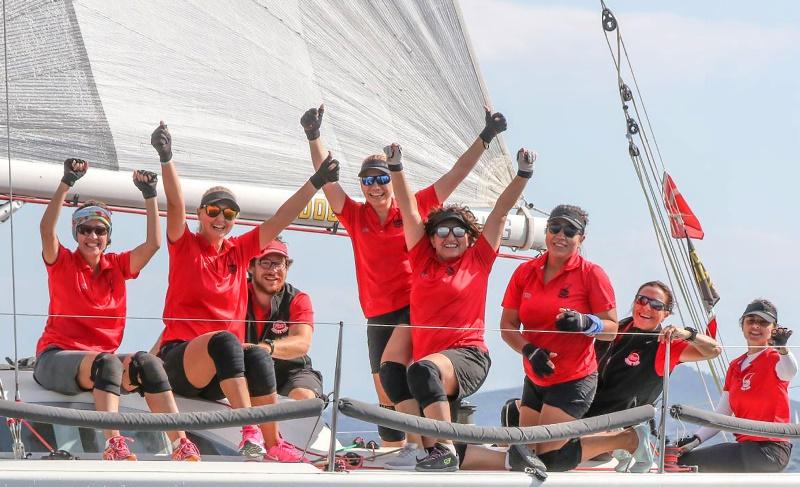 5. Deniz Kızı Kadın Yelken Kupası'nın Şampiyonu Eker Kadın Yelken Takımı Oldu