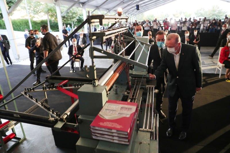 Cumhurbaşkanı Erdoğan, Gaziantep 5. OSB'de 300 fabrikanın toplu açılışını yaptı
