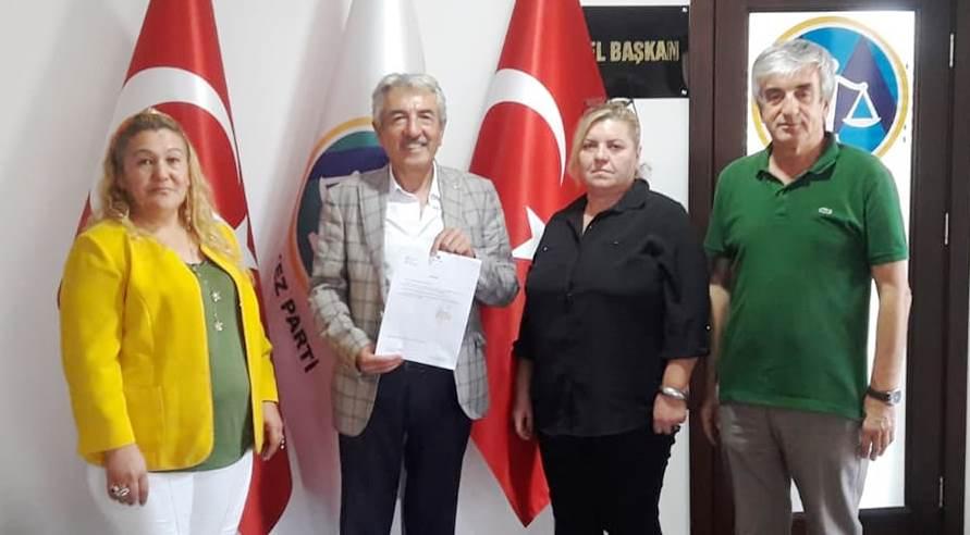 Merkez Parti Kızılcahamam ilçe Başkanlığına Ekrem ERCAN getirildi