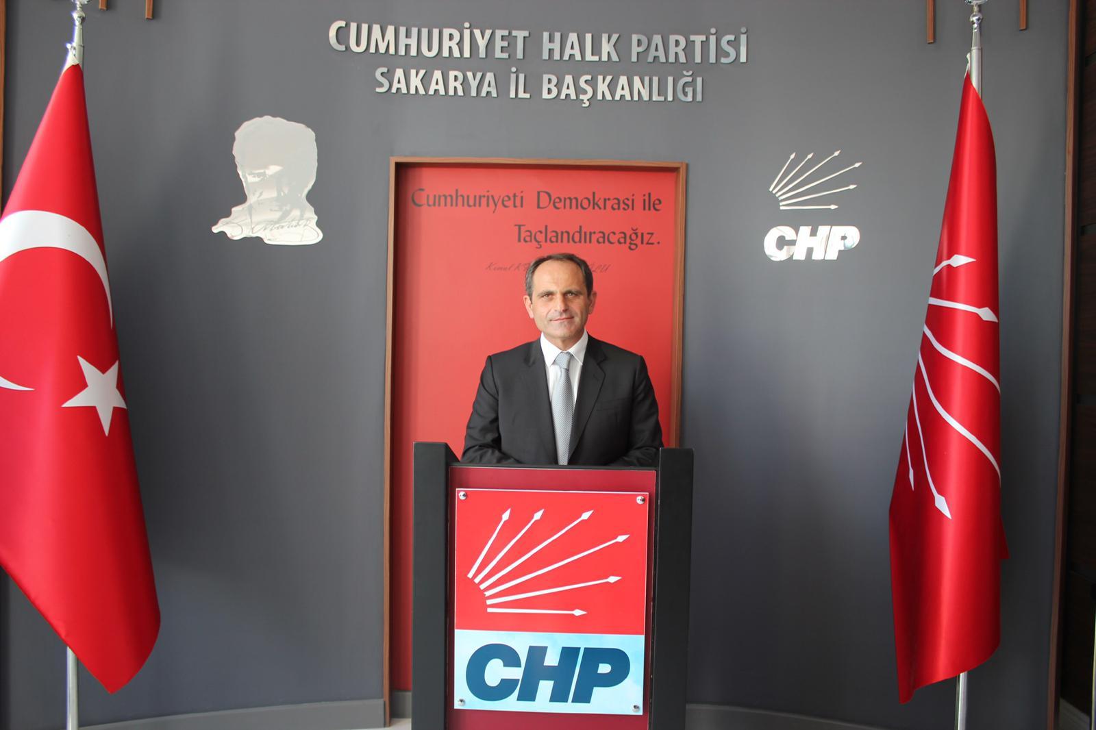 """CHP Sakarya İl Başkanı Ecevit Keleş:""""Yeni Düzenleme Milli Birliğimizi Bozacaktır"""""""