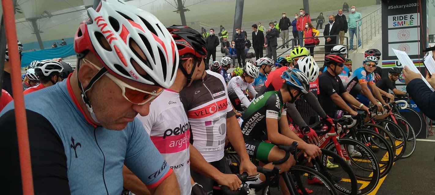 2020 Dağ Bisikleti Maraton Dünya Şampiyonası Ayçiçeği Bisiklet Vadisinde Granfondo Sakarya yarışları başladı