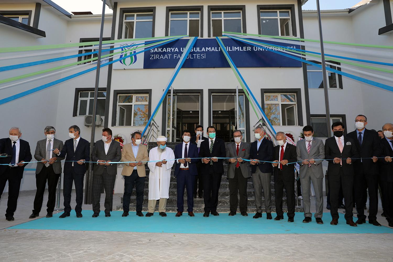 Ziraat Fakültesi Törenle Açıldı