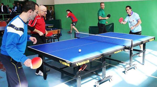 Sapanca 2.Uluslararası Veteranlar Masa Tenisi Turnuvası