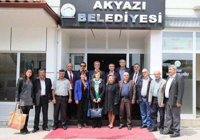 İPEKYOLU Belediyeleri Akyazı'da  toplandı