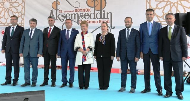 Akşemseddin Hazretleri Göynük'ün en büyük gücü ve sembolü.