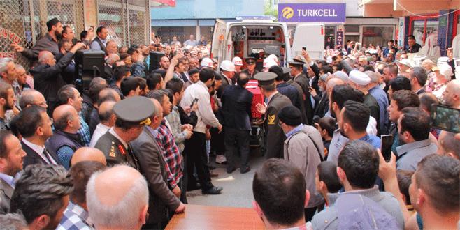 Şehit Onbaşı Cengiz Poyraz  ebediyete uğurlandı.