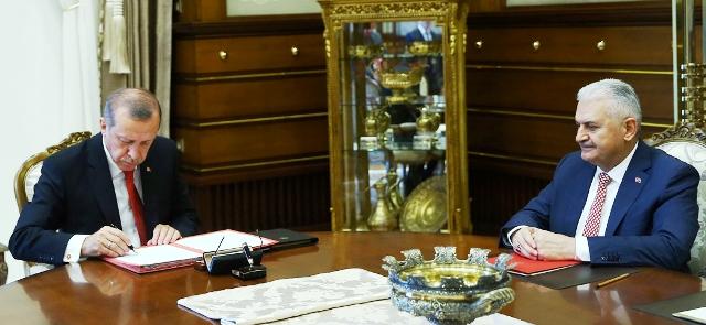 Başbakan Yıldırım, 65. Hükümeti açıkladı