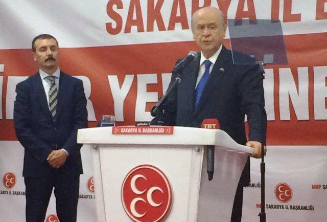 """Devlet Bahçeli,""""Türkiye kan revan içindedir"""""""
