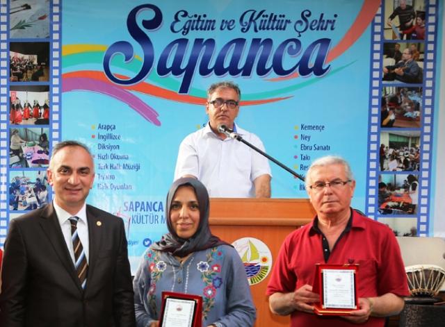 Sapanca Belediyesi Kültür Müdürlüğü Yılsonu Sergisi Muhteşemdi