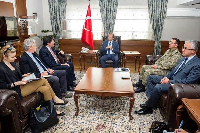 AB Türkiye Delegasyonu Van Valisi İbrahim TAŞYAPAN'ı  ziyaret etti