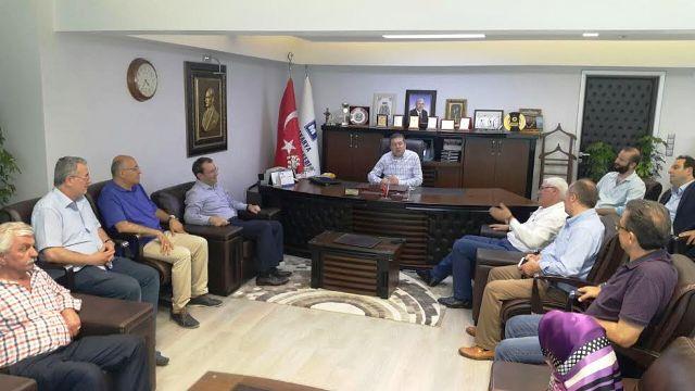AK Parti Adapazarı'ndan Kocacık'a hayırlı olsun ziyareti