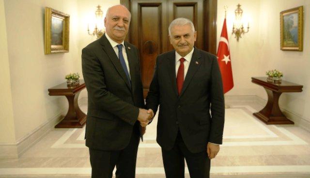Bayraktar, Başbakan Yıldırım'a tarımın sorunlarını anlattı…