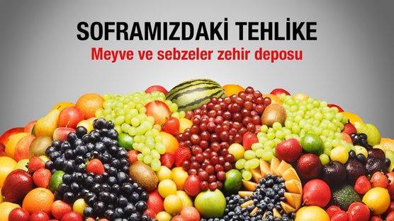 Zehirli Sebze ve Meyve İstemiyoruz