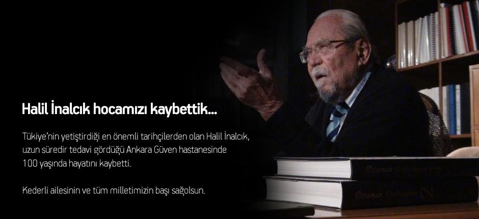 Tarihçi yazar Halil İnalcık vefat etti