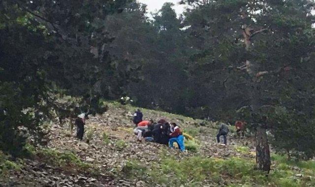 Helikopter Kazasında  7 Şehit  8 Yaralı var