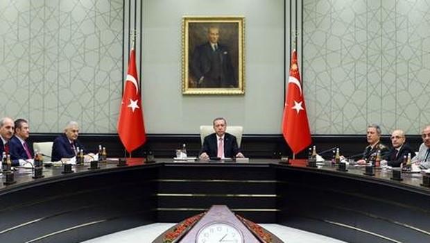 MGK Toplantısı Cumhurbaşkanlığı Külliyesi'nde Gerçekleştirildi