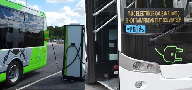 Otobüsler güneş enerjisi ile şarj edilecek