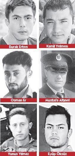 Denizli,Adana,Bilecik,Kütahya,Bursa,Ankara, Van Şehitlerini uğurluyor