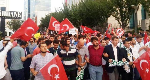 """AK Partili Gençlerden """"Kutlu Yürüyüş"""""""
