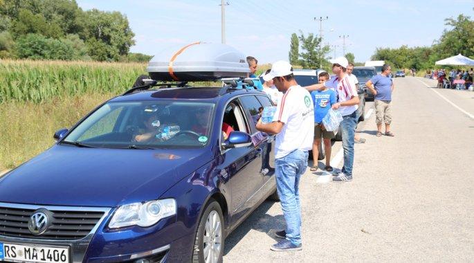 Edirne Belediyesi Türk işçileri yalnız bırakmadı.