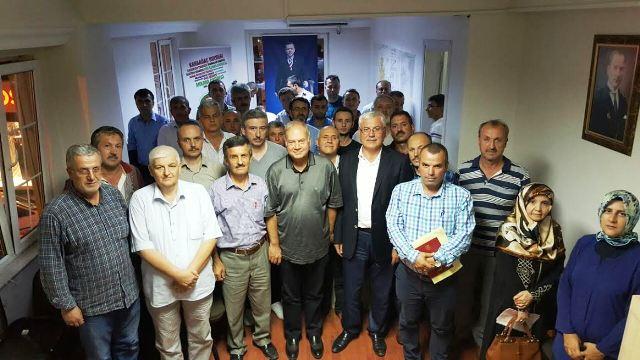 AK Parti Adapazarı Mahalle başkanlarıyla buluştu