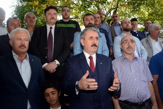 """Mustafa Destici""""Teröristler müslüman ve insan olamazlar"""""""