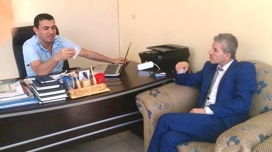 Hak ve Huzur Partisi Mardin İl Başkanı Nusret Uygur Kızıltepe'de