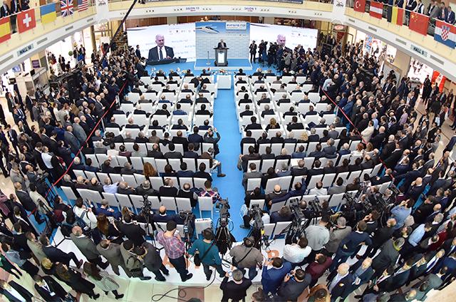 Eurasia Rail, 2 – 4 Mart 2017'de sektörü bir araya getirecek