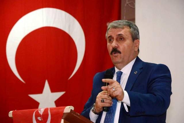 """Mustafa Desteci""""Kayseri'deki kahpe terör saldırısını lanetliyorum"""""""
