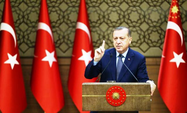 """Cumhurbaşkanı Erdoğan""""Terör örgütlerine karşı milli bir seferberlik ilan ediyorum"""""""