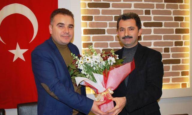 Ahmet Acar Kaymakam Ahmet Odabaş onuruna yemek verdi
