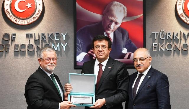 Çelik İhracatçıları Birliği Ekonomi Bakanı İle Buluştu