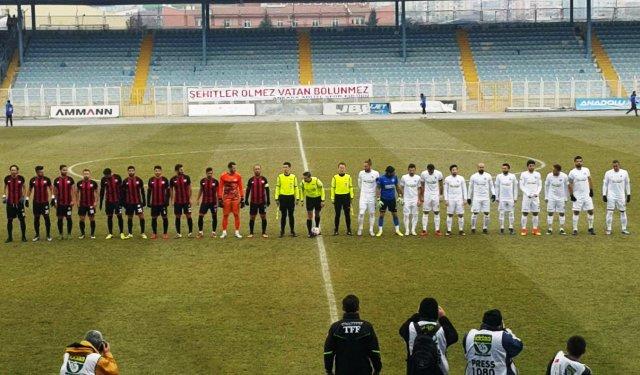 Sakaryaspor, deplasmanda Ankara Adliyespor'a 4-2 mağlup oldu.