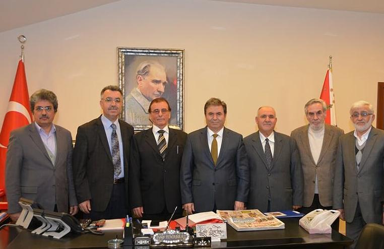 Doğa Savaşçıları Emniyet Müdürü Eyüp Pınarbaşı'yı ziyaret etti