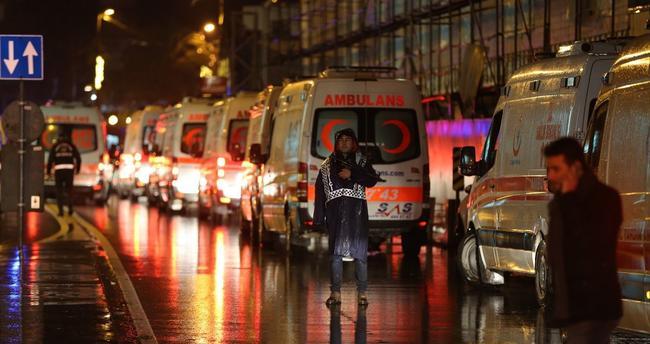 Reina'da 39 kişi hayatını kaybetti 69 Yaralı var