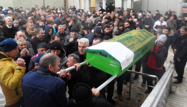 Rıdvan Kırval son yolculuğuna uğurlandı.