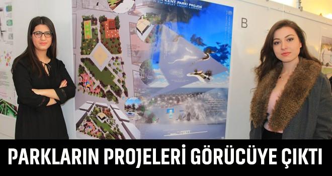 İncirliova'da yapılacak olan parkların projeleri görücüye çıktı