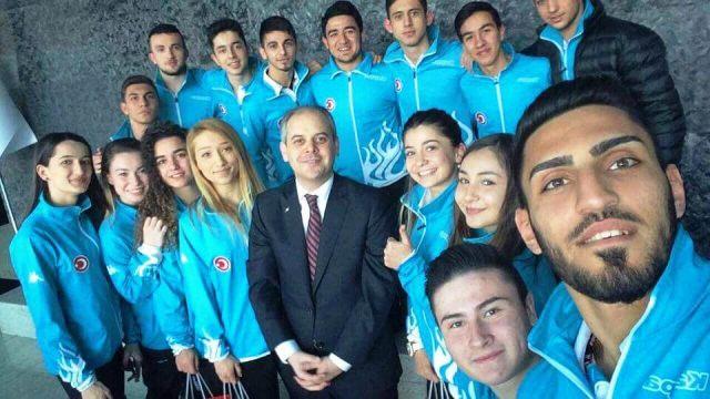 Kayacık ve Yemenici Gençlik ve Spor Bakanını ziyaret etti