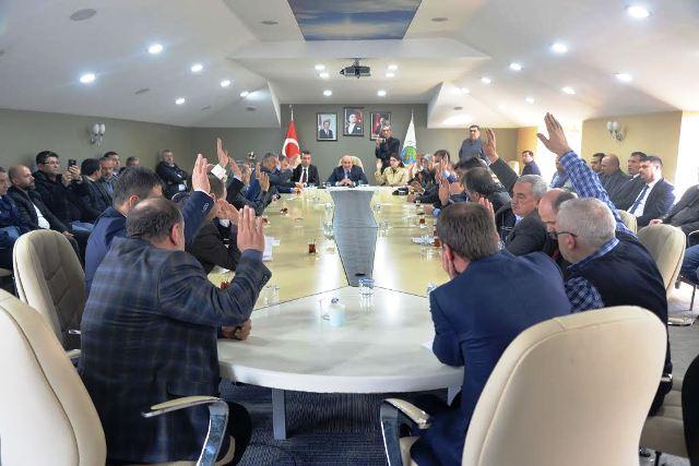 Hendek Belediyesi Mart ayı olağan toplantısını yaptı