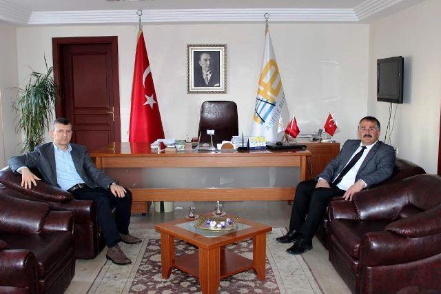 Otokar'dan Başkan İsmail Karakullukçu'ya  Ziyaret…