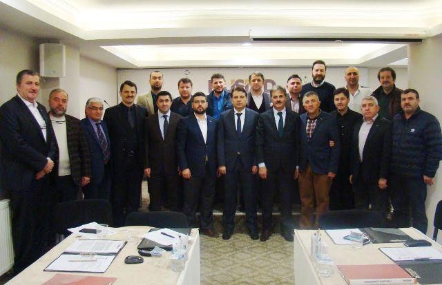 Başkan Alemdar'dan Sakarya MÜSİAD'a ziyaret…