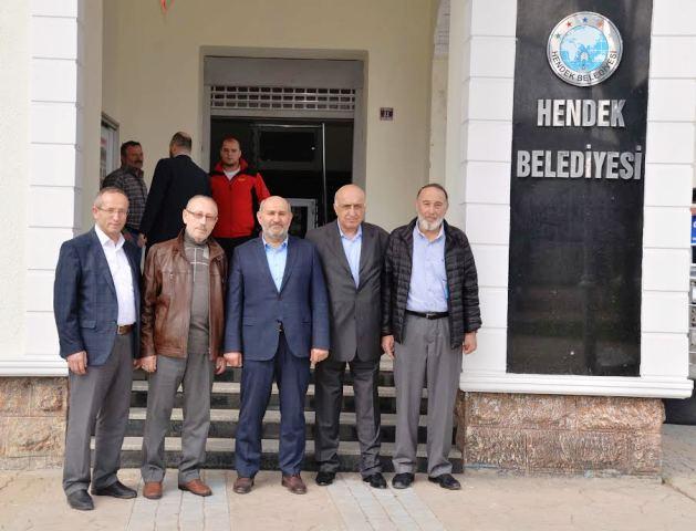 2.OSB Yönetimi Başkan İrfan Püsküllü'yü ziyaret etti