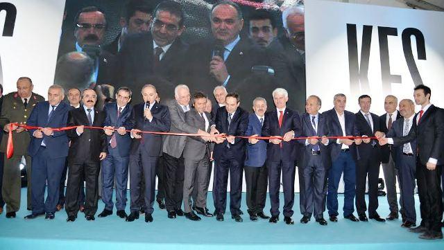 Bakan Faruk Özlü KFS Fabrikasının açılışını yaptı