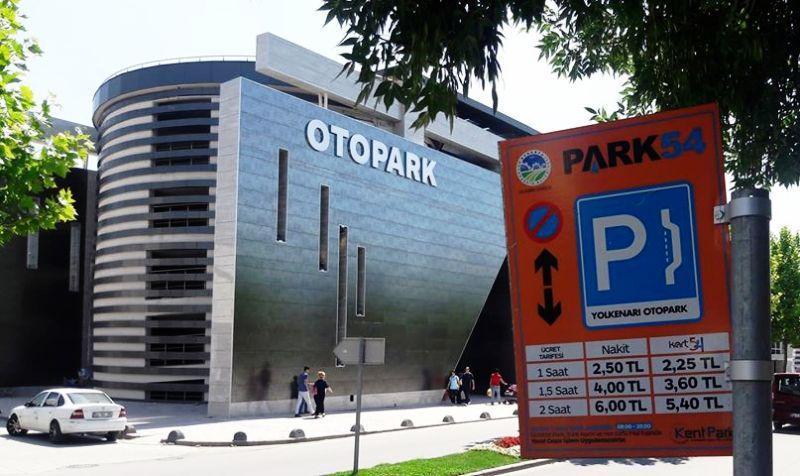 Sakarya'da  Kapalı Resmi  Otopark  2  Tl  İşgal Açık Otopark 6 Tl
