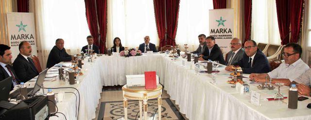 MARKA Yönetim Kurulu Toplantısı Yalova'da Yapıldı