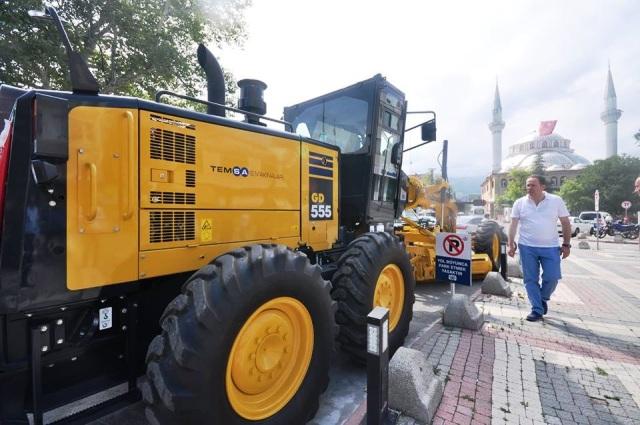 Geyve Belediyesi Makine Parkını Güçlendirdi