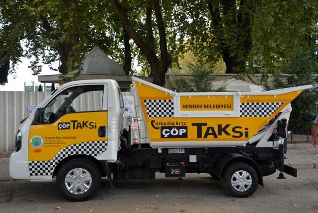 """Hendek Belediyesi """"Çöp Taksi"""" hizmetine başlıyor."""