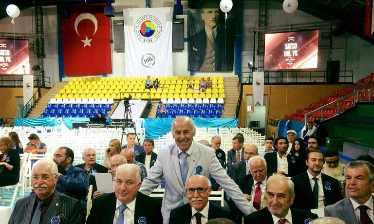 """SATSO 100. Yılını Kutladı Bakan Tüfenkci: """"sakarya Yıldız Şehir Olacak"""""""
