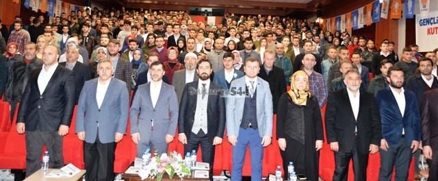 AK Parti Hendek İlçe Gençlik Kolları 5. Olağan Kongresi yapıldı.